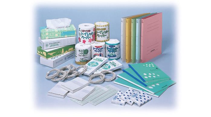 回収古紙リサイクル製品~再生品~